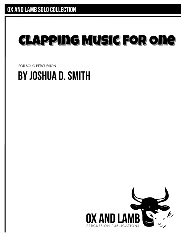 Clapping Music for One_Page_1