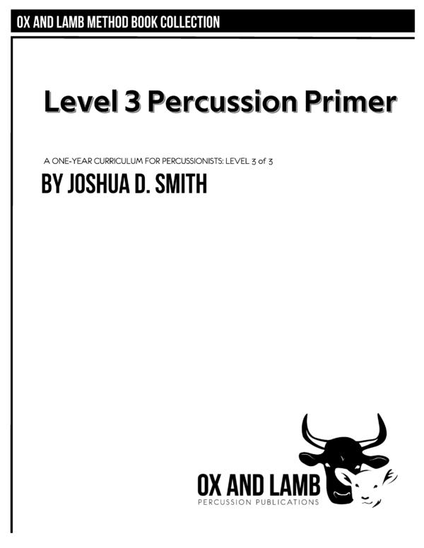 Smith_Level 3 Percussion Primer_COVER