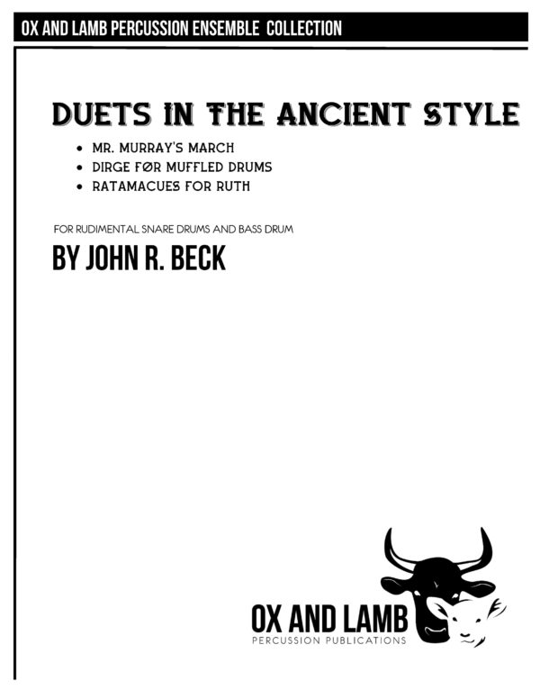 PLEASE DO NOT COPY MUSIC_Beck_Duets in the Ancient Style_Complete_Page_1