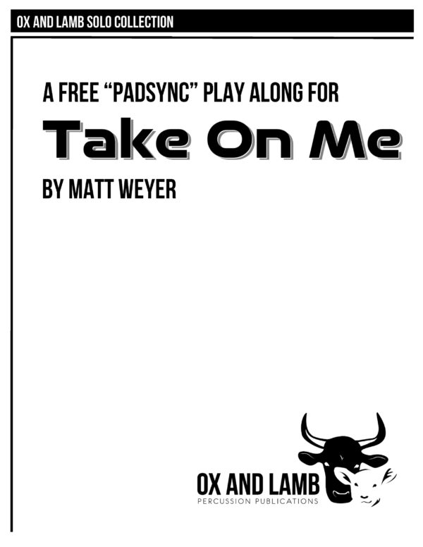 Weyer_Take On Me_Complete_Page_1