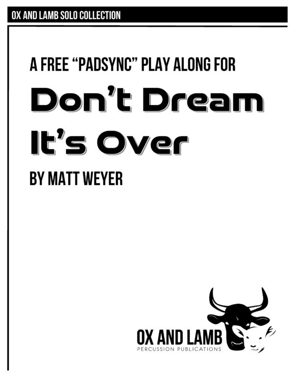 Weyer_Dont Dream Its Over_COMPLETE_Page_1