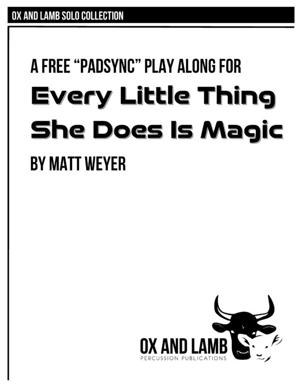 Weyer_Every Little Thing She Does Is Magic_Complete_Page_1